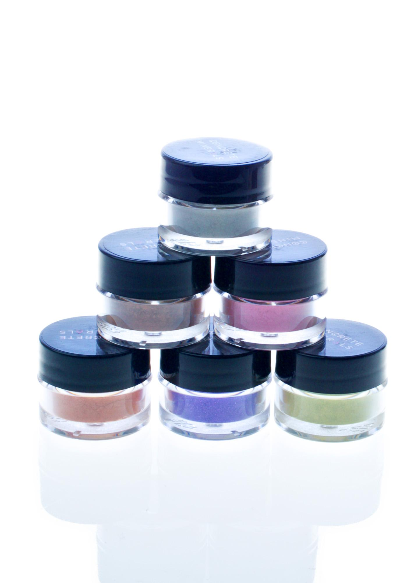Concrete Minerals Zombie Girl Eyeshadow Collection