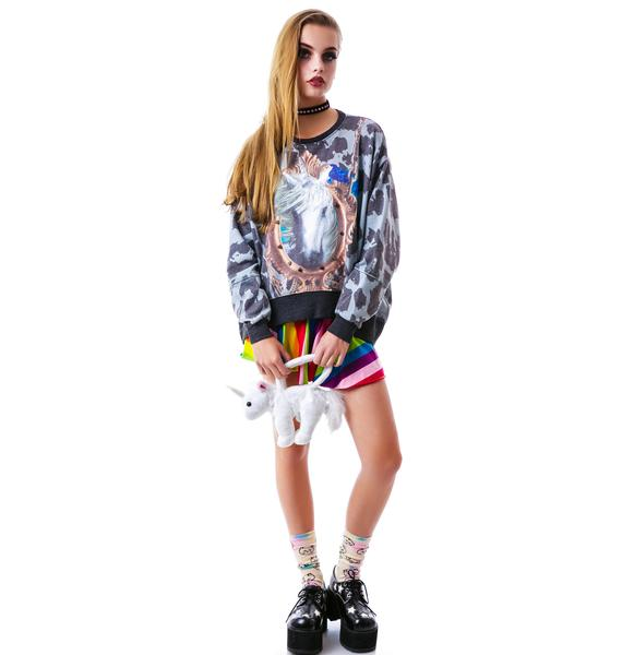 Hunt of the Unicorn Studded Sweater
