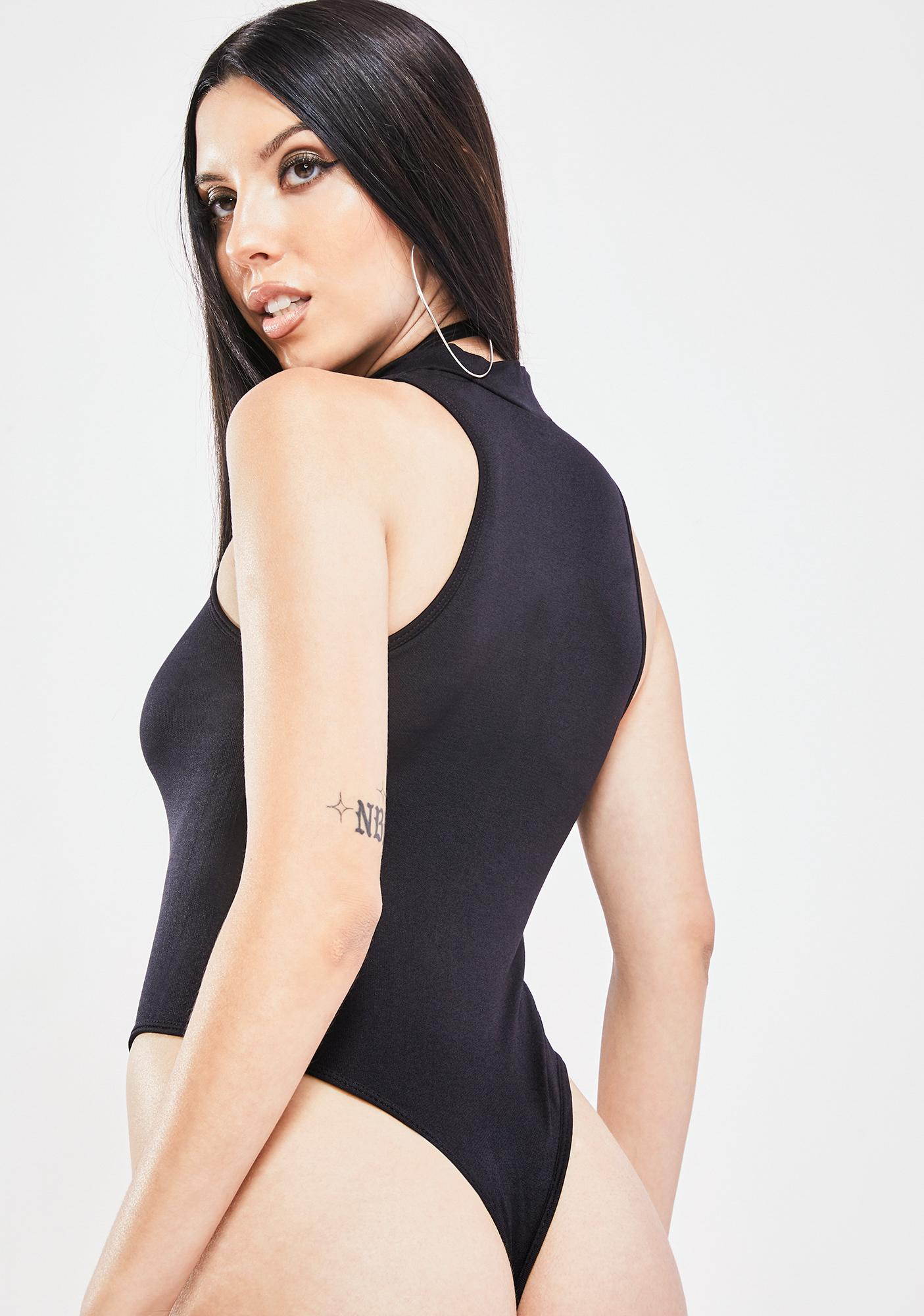 Love A Challenge Zip Up Bodysuit