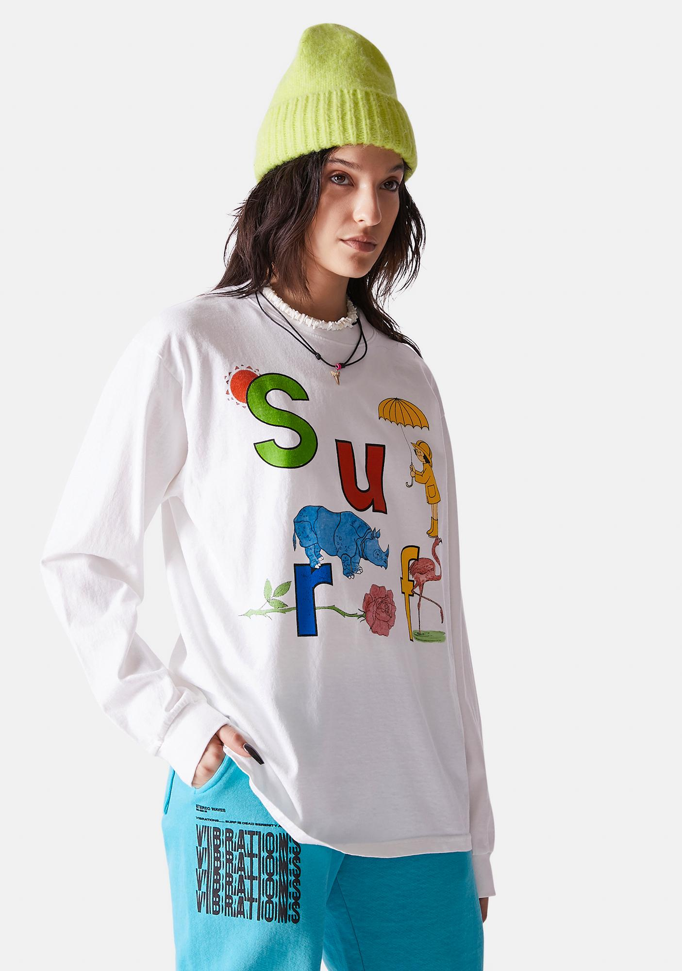 Surf is Dead Rainy Daze Long Sleeve Tee