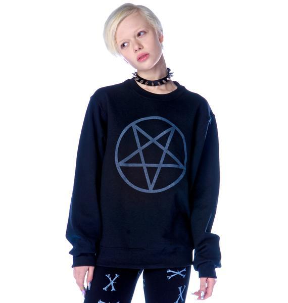 Shop W.A.S. Pentagram Sweatshirt