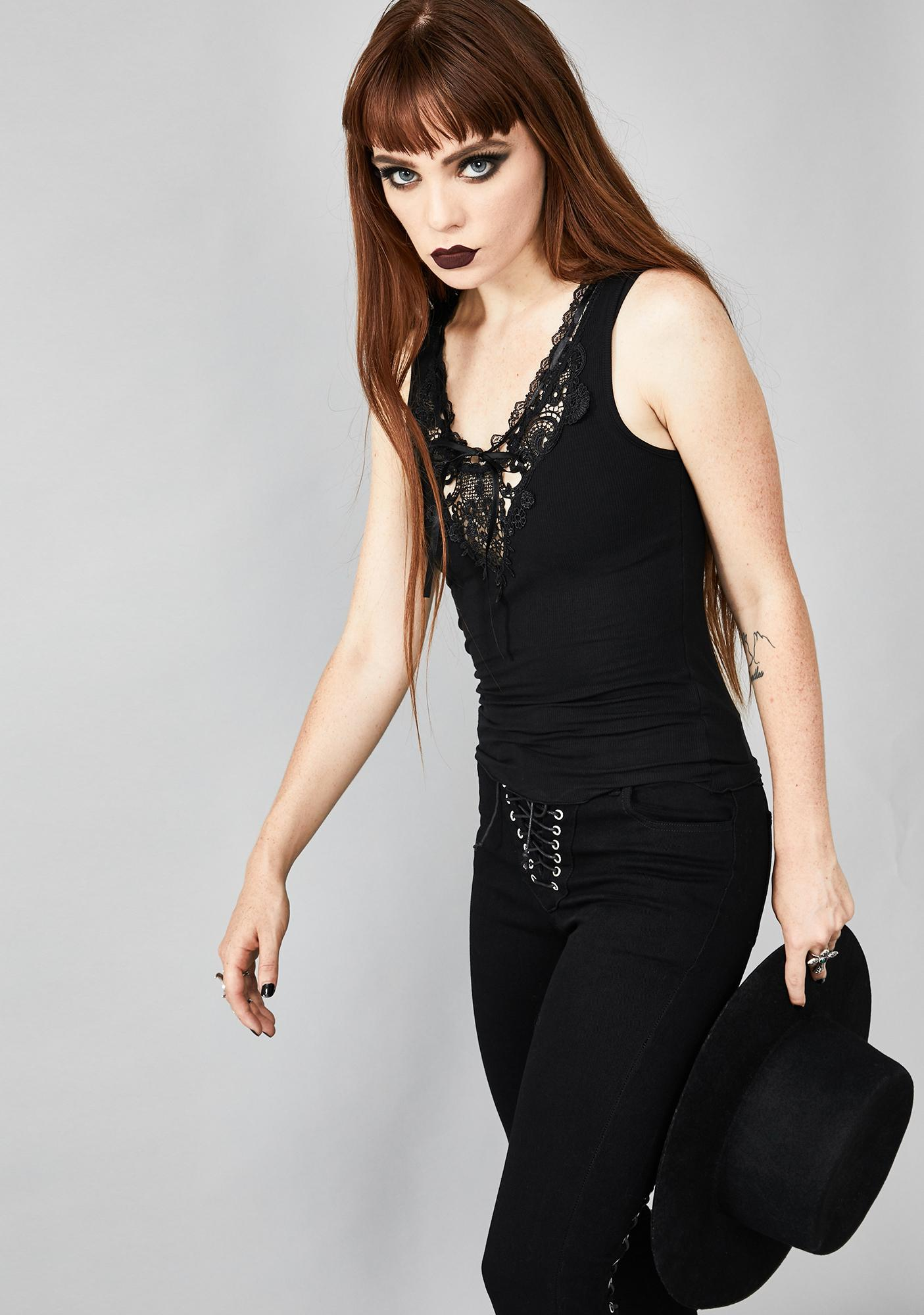Widow Cryptic Miracle Lace Tank