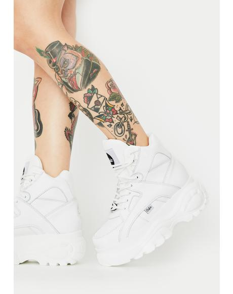 Classic High Top Leather Sneakers