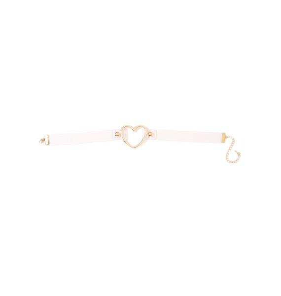 Fake Love Clear Choker