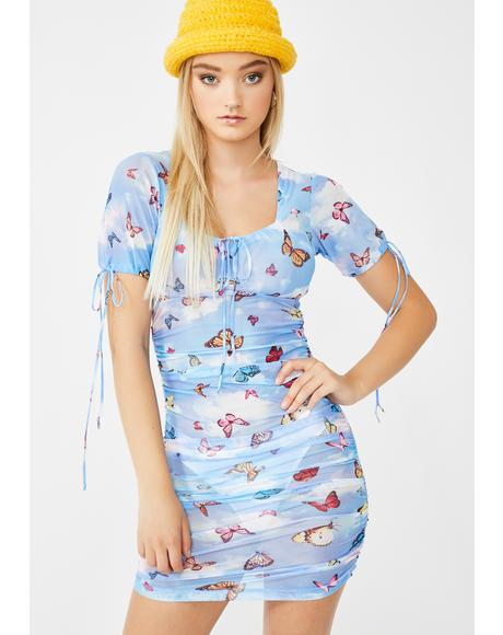 Butterfly Guenetta Dress
