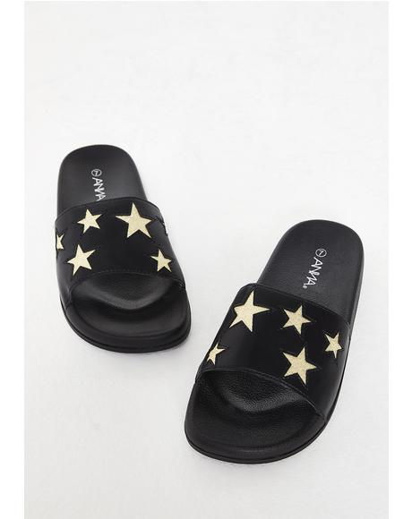 Dark All For Fame Star Slides
