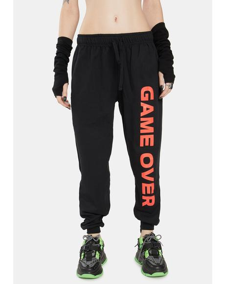 Game Over Jogger Sweatpants