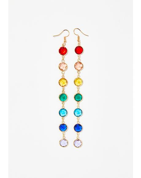 Loud N' Proud Rainbow Earrings