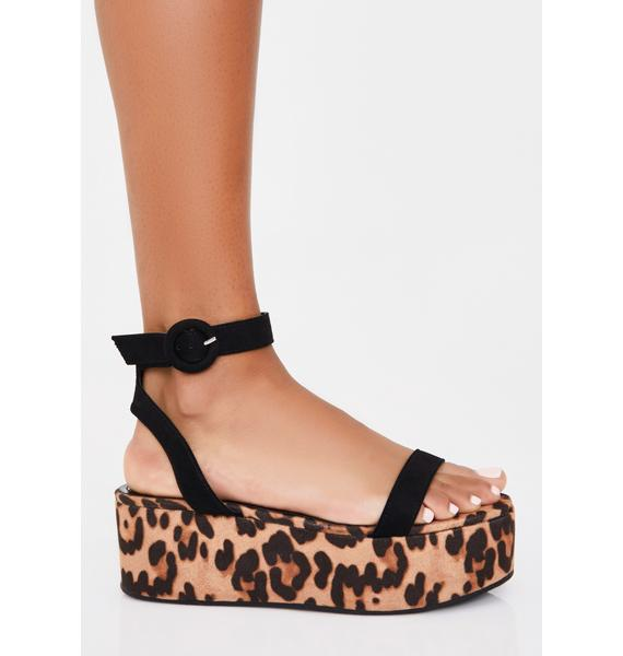 Savage Animal Control Platform Sandals