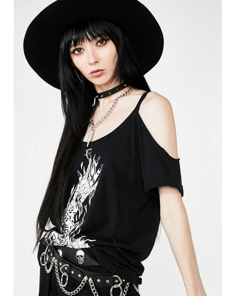 Hell Distressed Top