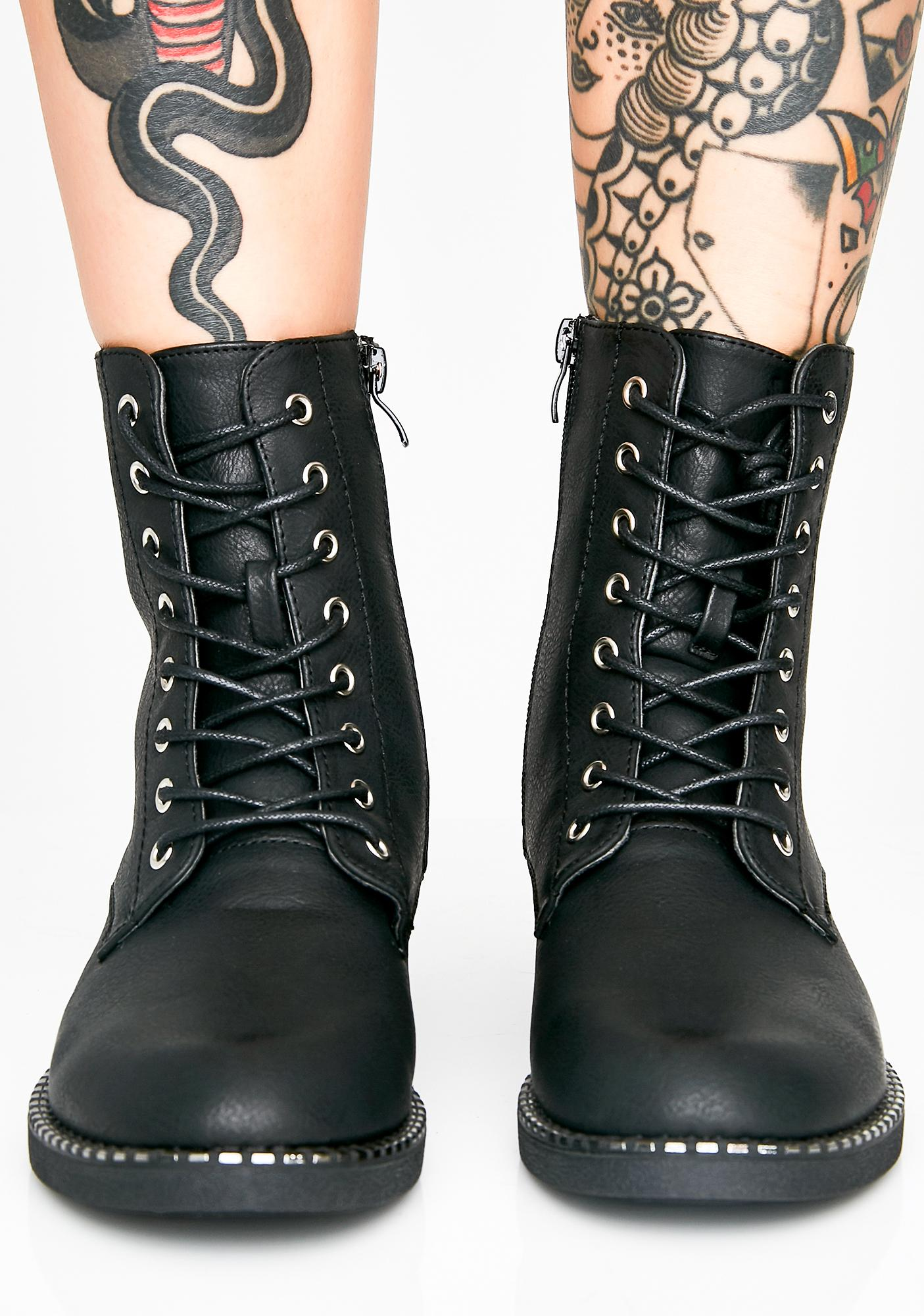 Operation Hottie Combat Boots