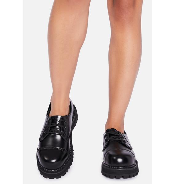 Demonia Proper Work Oxford Shoes