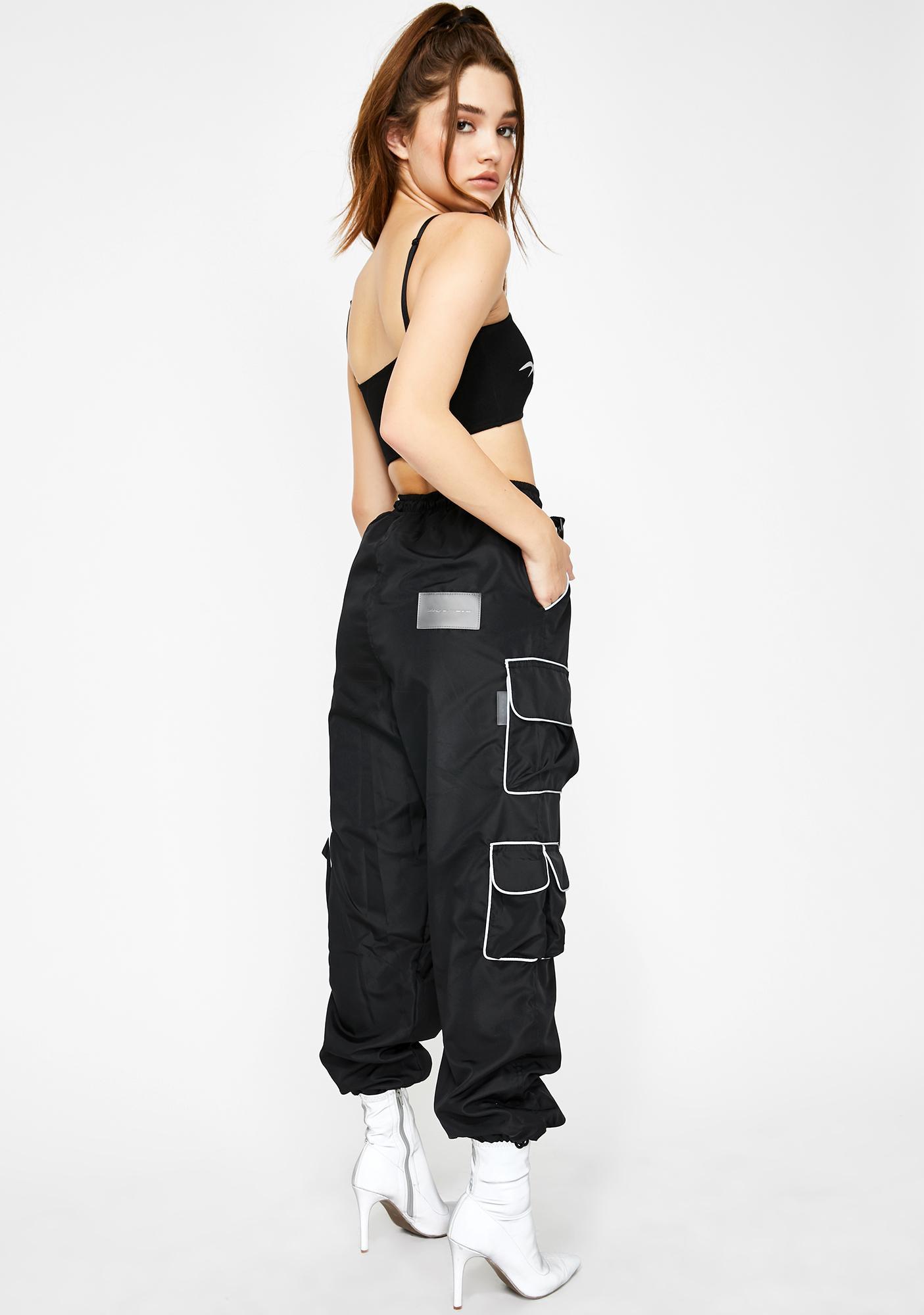 Ziq & Yoni Reflective Pocket Cargo Pants