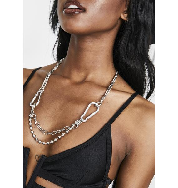 Get A Grip Chain Link Necklace