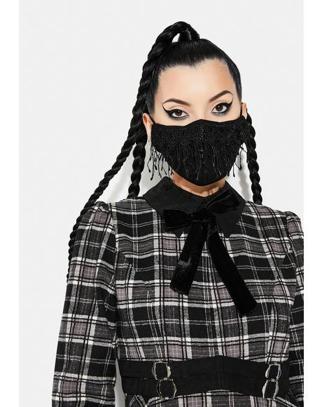 Daily Gothic Lace Face Mask