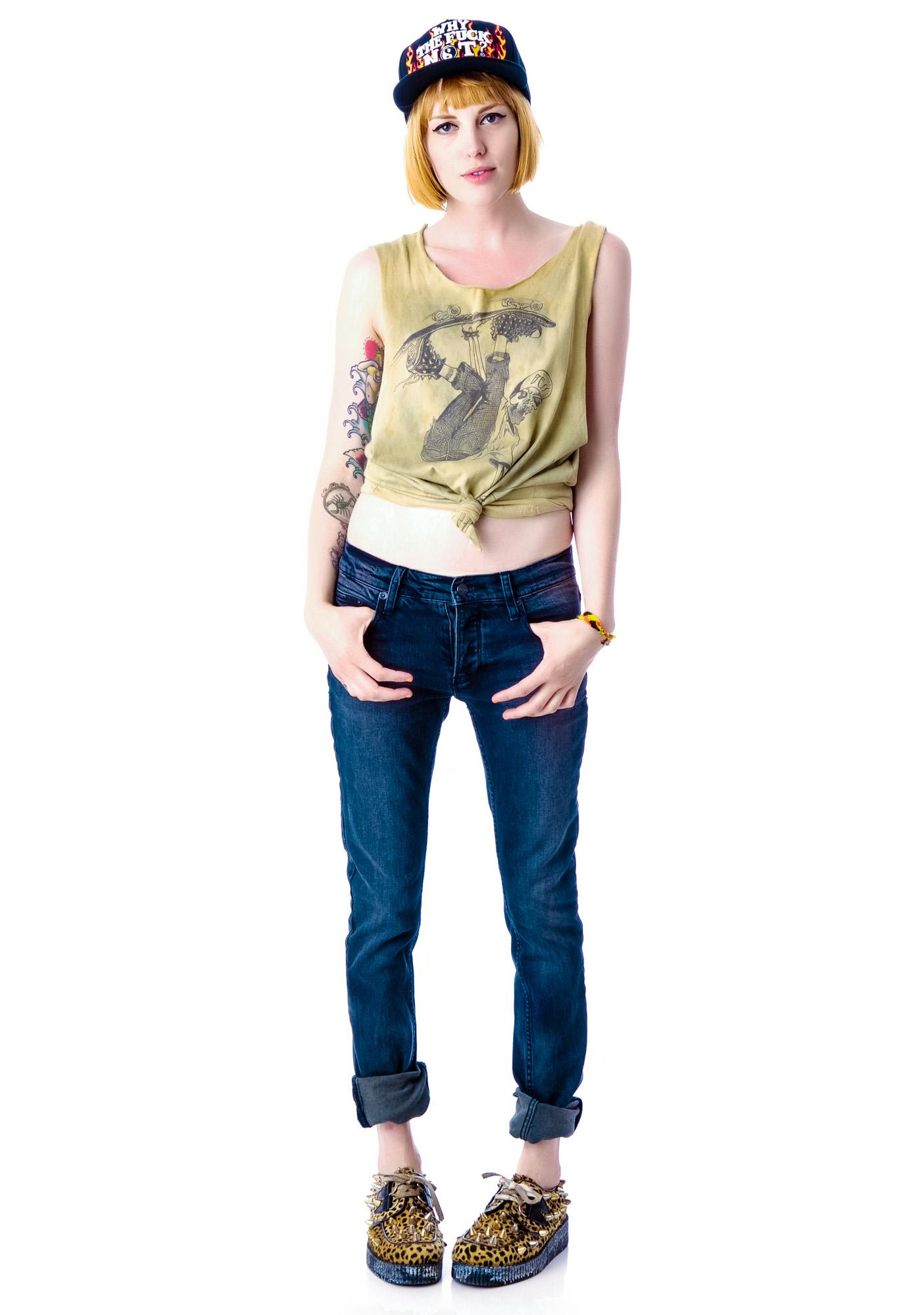 Kill City Brimstone Junkie Boyfriend Jeans