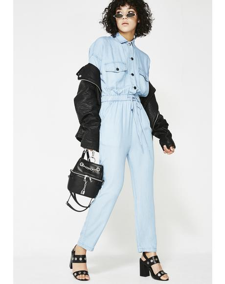 The Mechanic Denim Jumpsuit