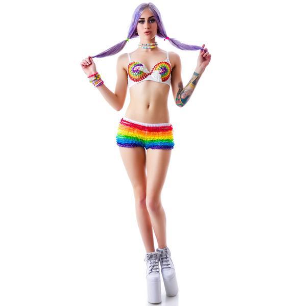 Chiquita Rainbow Gem Bra