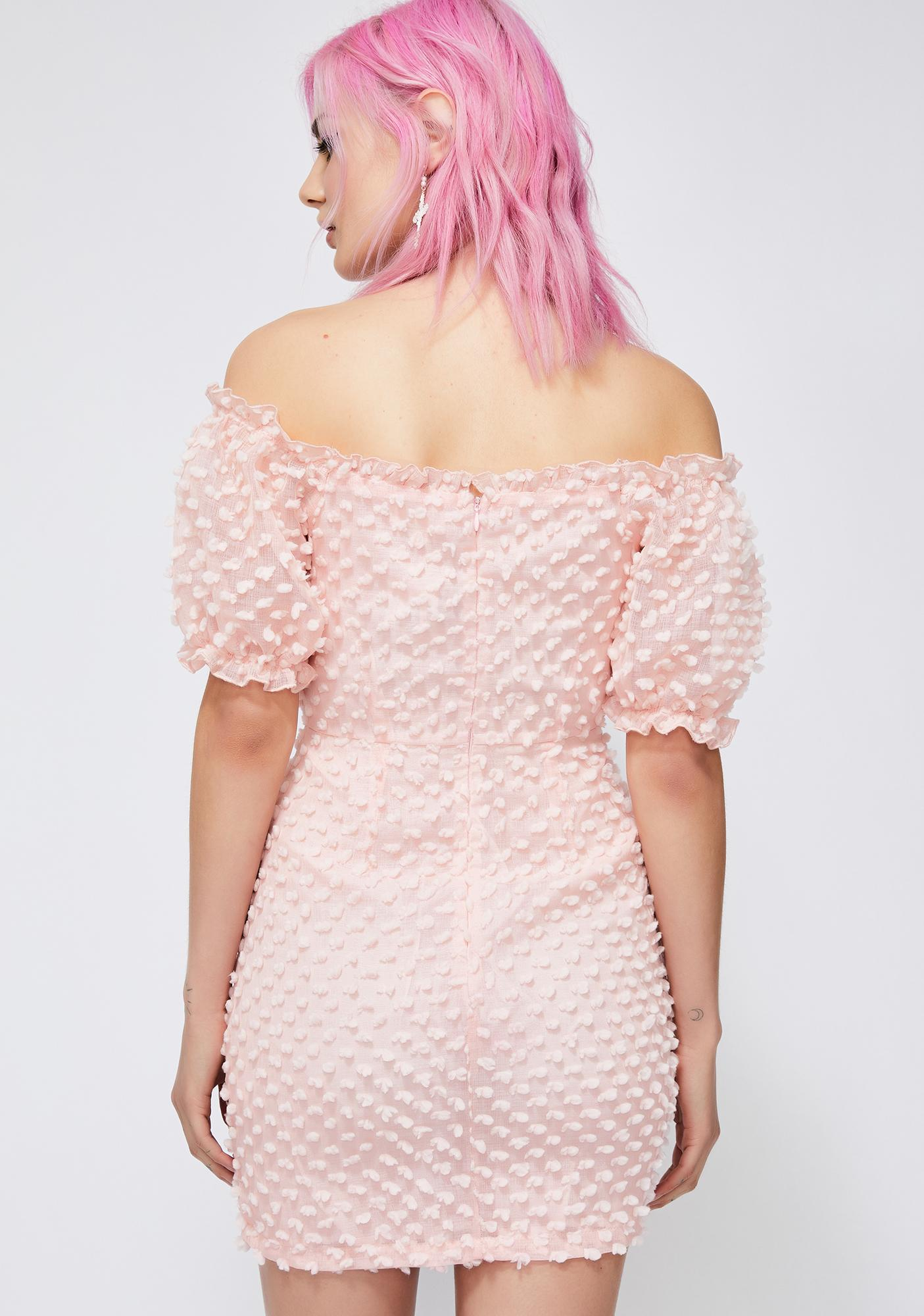 Just Peachy BB Mini Dress