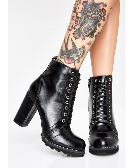 Not Ya Type Heeled Boots