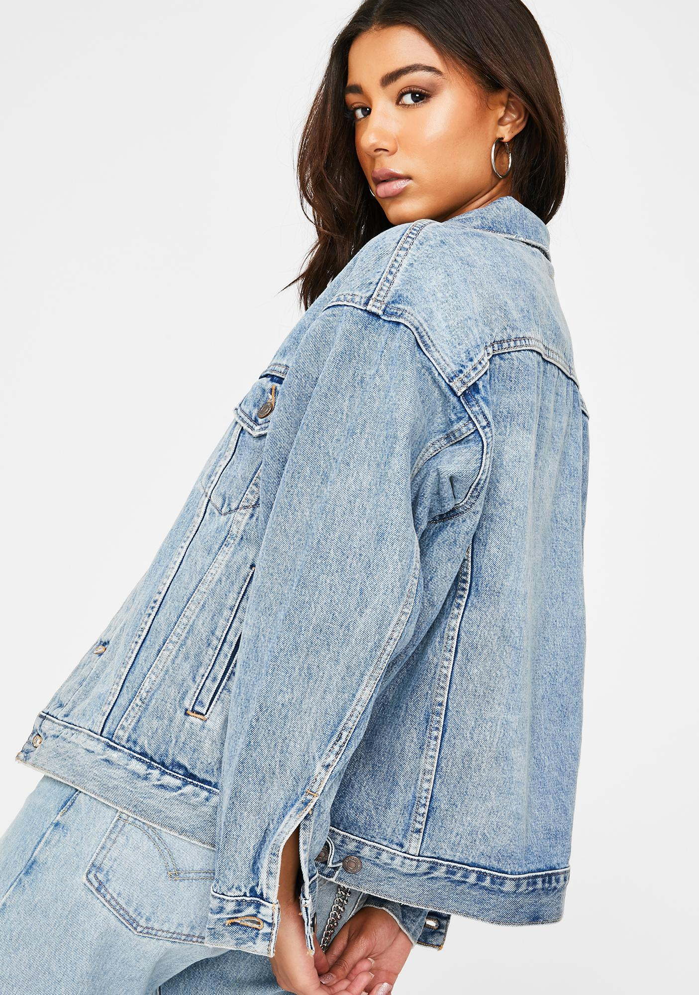 Levis Happy Together Dad Trucker Jacket