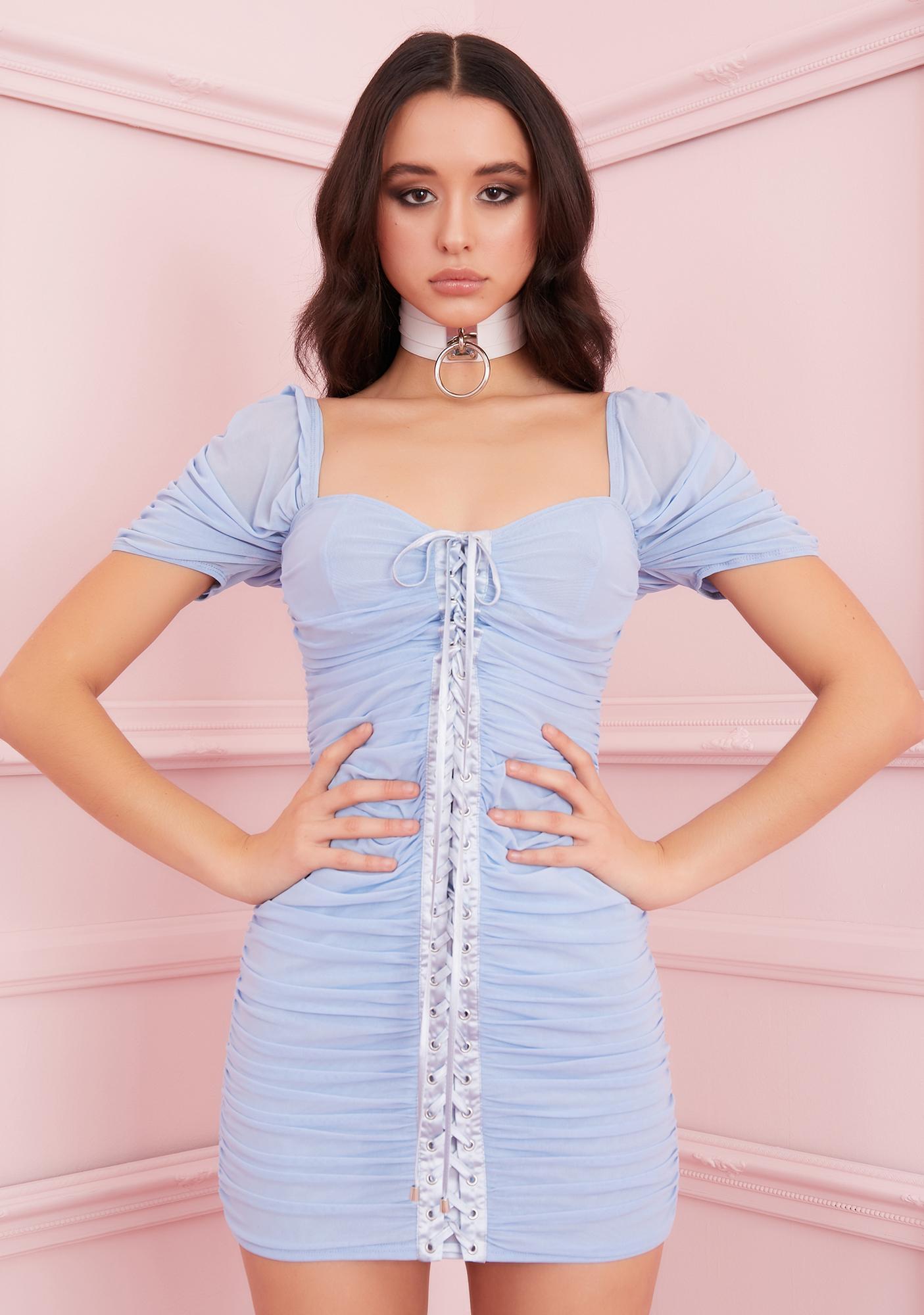 Sugar Thrillz Pretty Girl Swag Bustier Dress