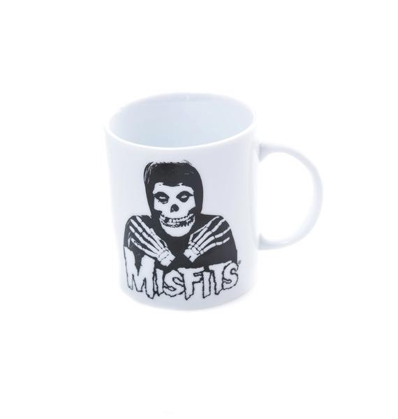 Sourpuss Clothing Misfits Skeleton Hands Mug