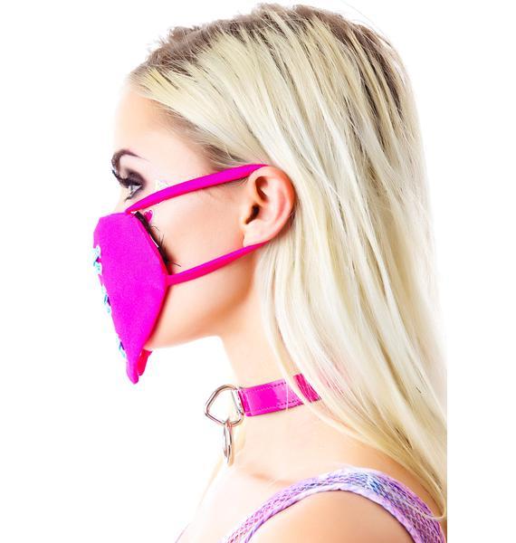 Sweetheart Rage Face Mask