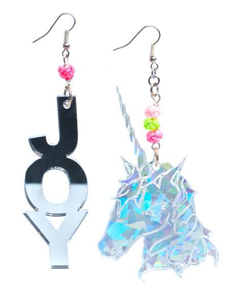 Team Joy Earrings