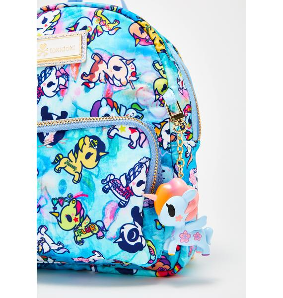 Tokidoki Watercolor Paradise Mini Backpack