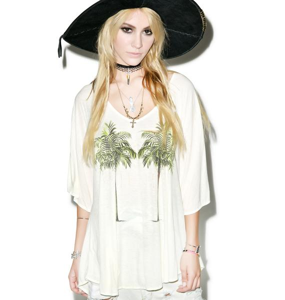 Wildfox Couture Twin Palms Tahiti Tunic