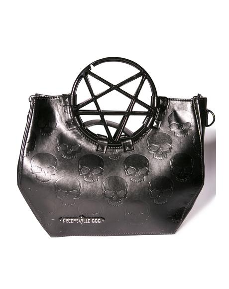 Pentagram Handle Bag