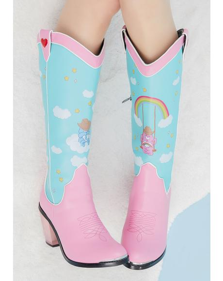Rainbow Roundup Cowboy Boots
