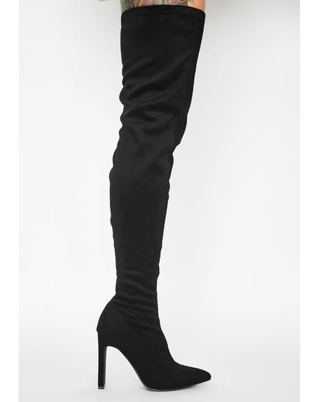 Miss Temptress Thigh High Boots