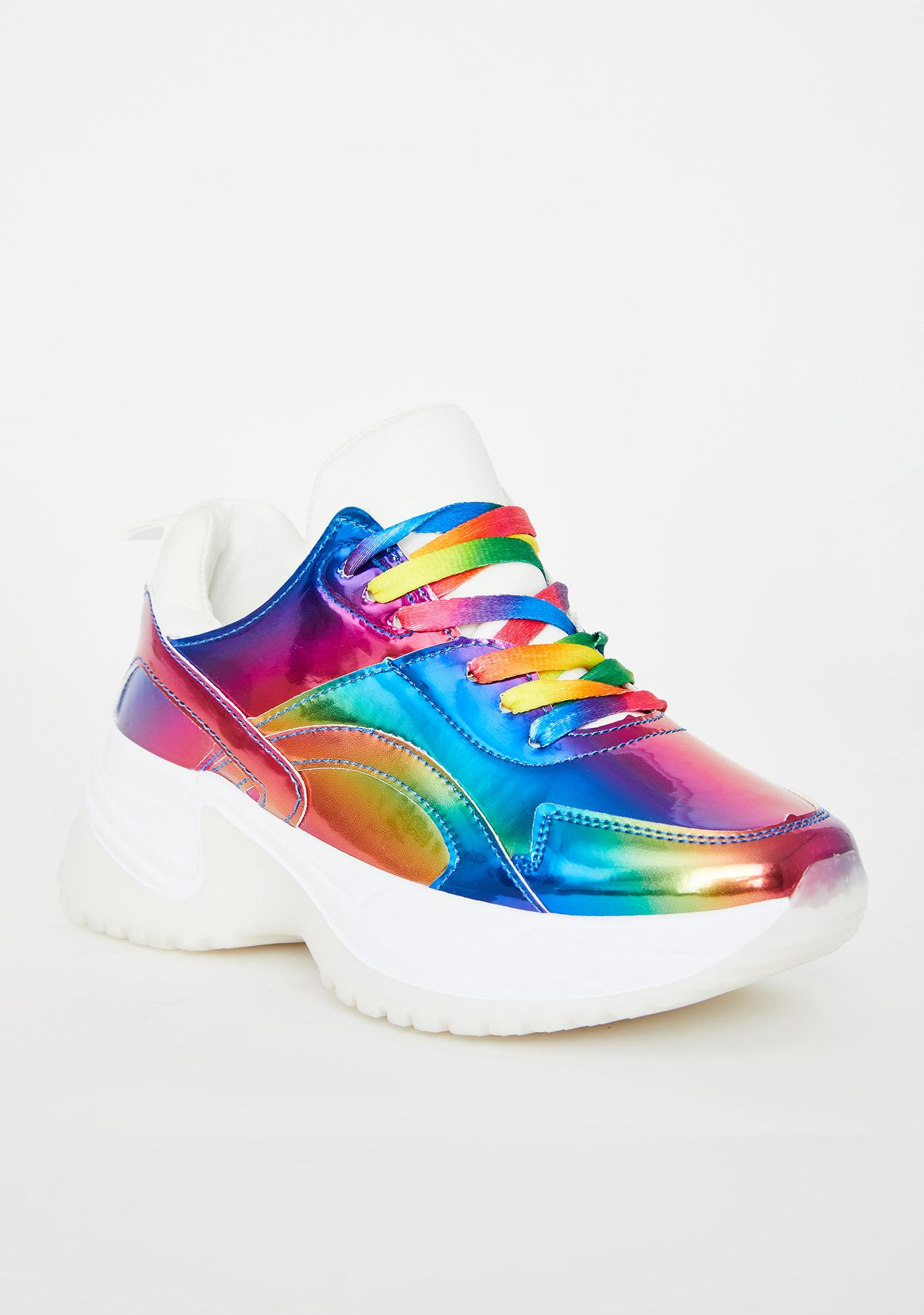 Space Prism Chunky Sneakers