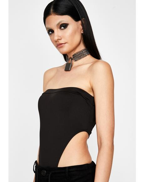 Explicit Edition Tube Bodysuit