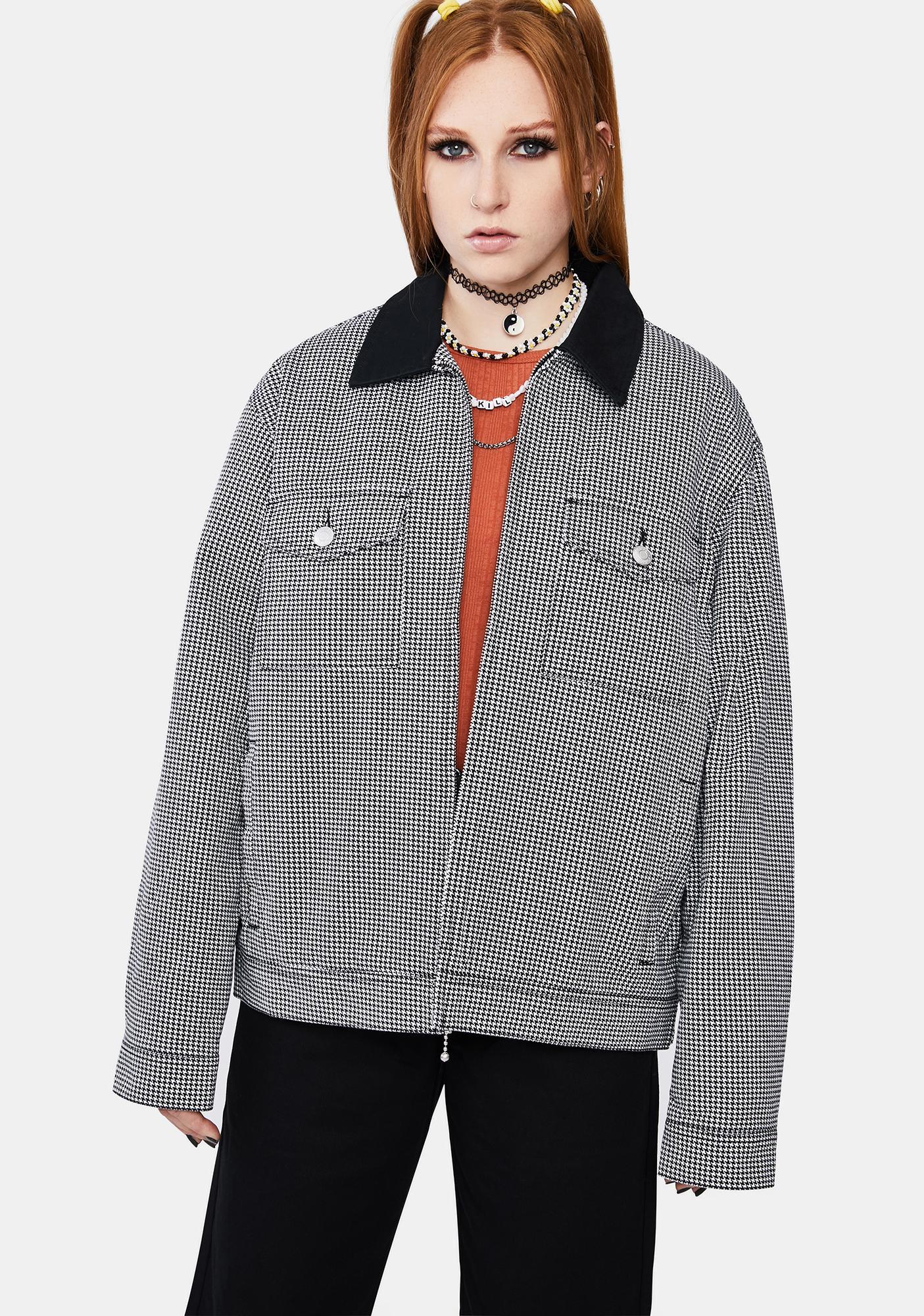 Obey Splash Zip Up Jacket