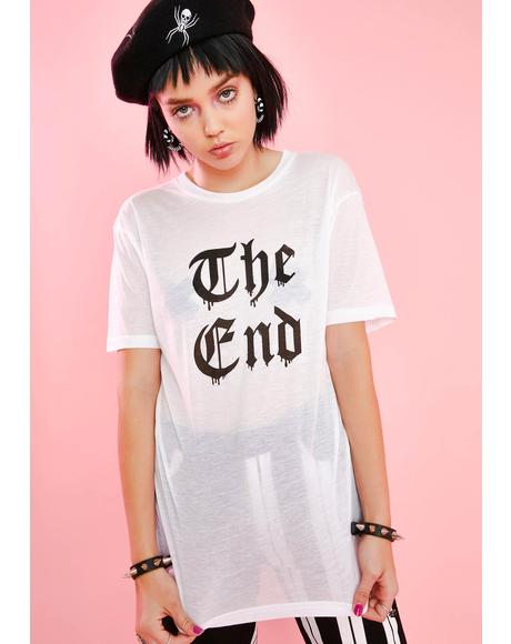 End Of Story Graphic Tee