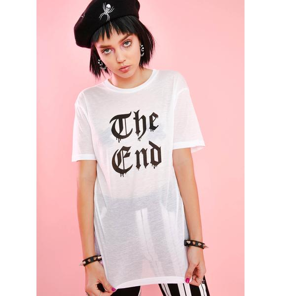 Sugar Thrillz End Of Story Graphic Tee