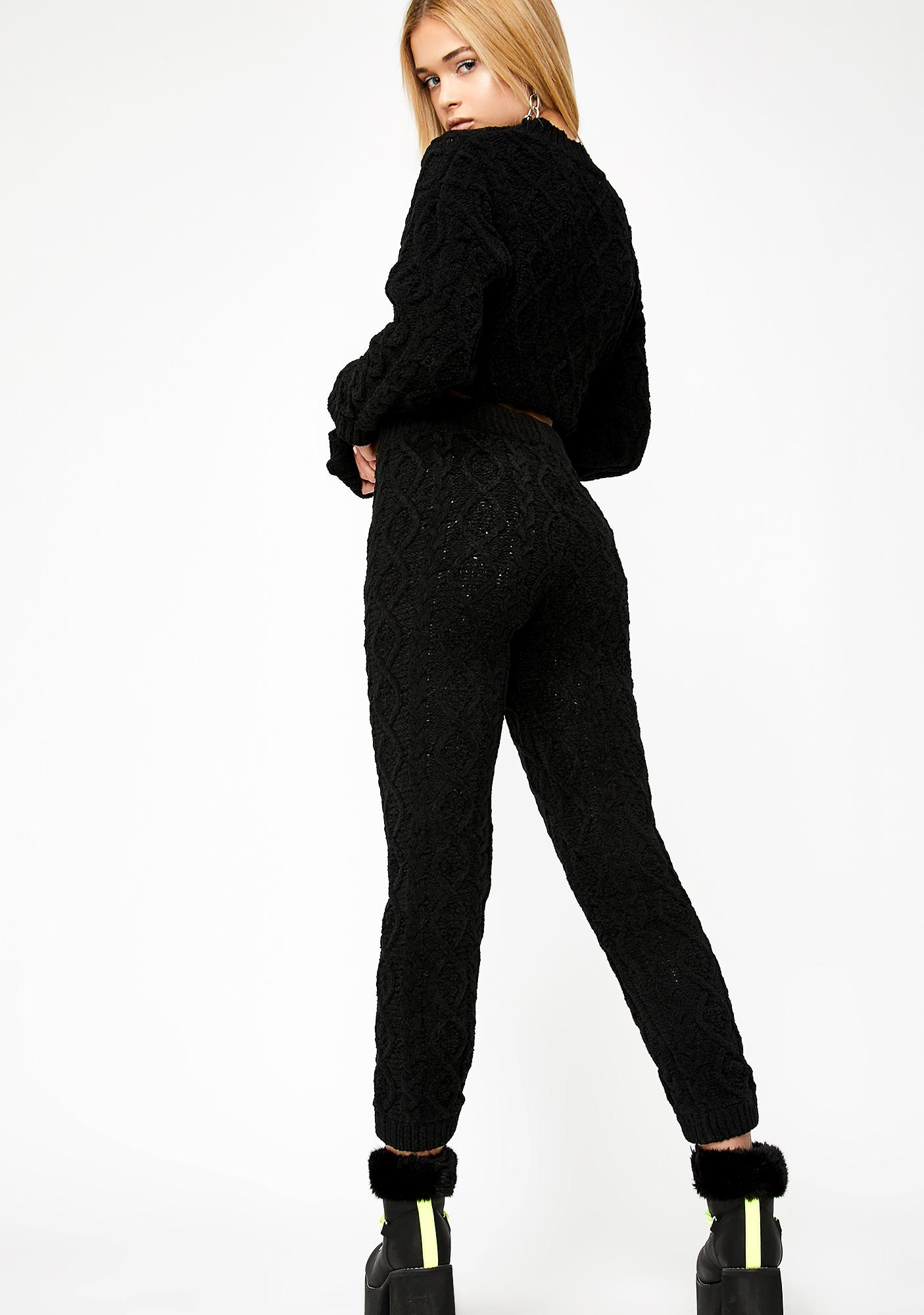 Lady Of Leisure Knit Pants