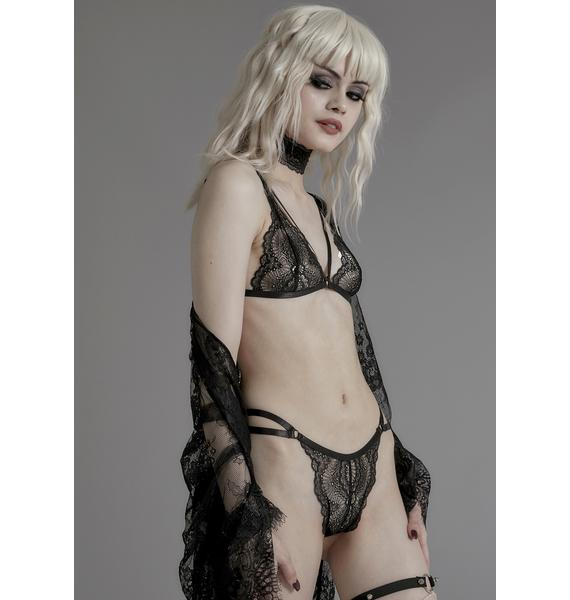 Widow Kill Your Darlings Lace Thong
