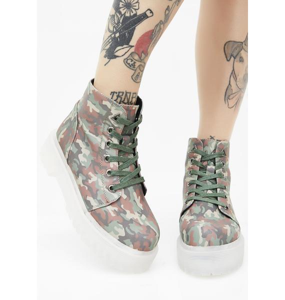 Y.R.U. I Kno U See Me Slayr Boots