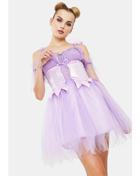 Glittery Daydream Fairy Costume