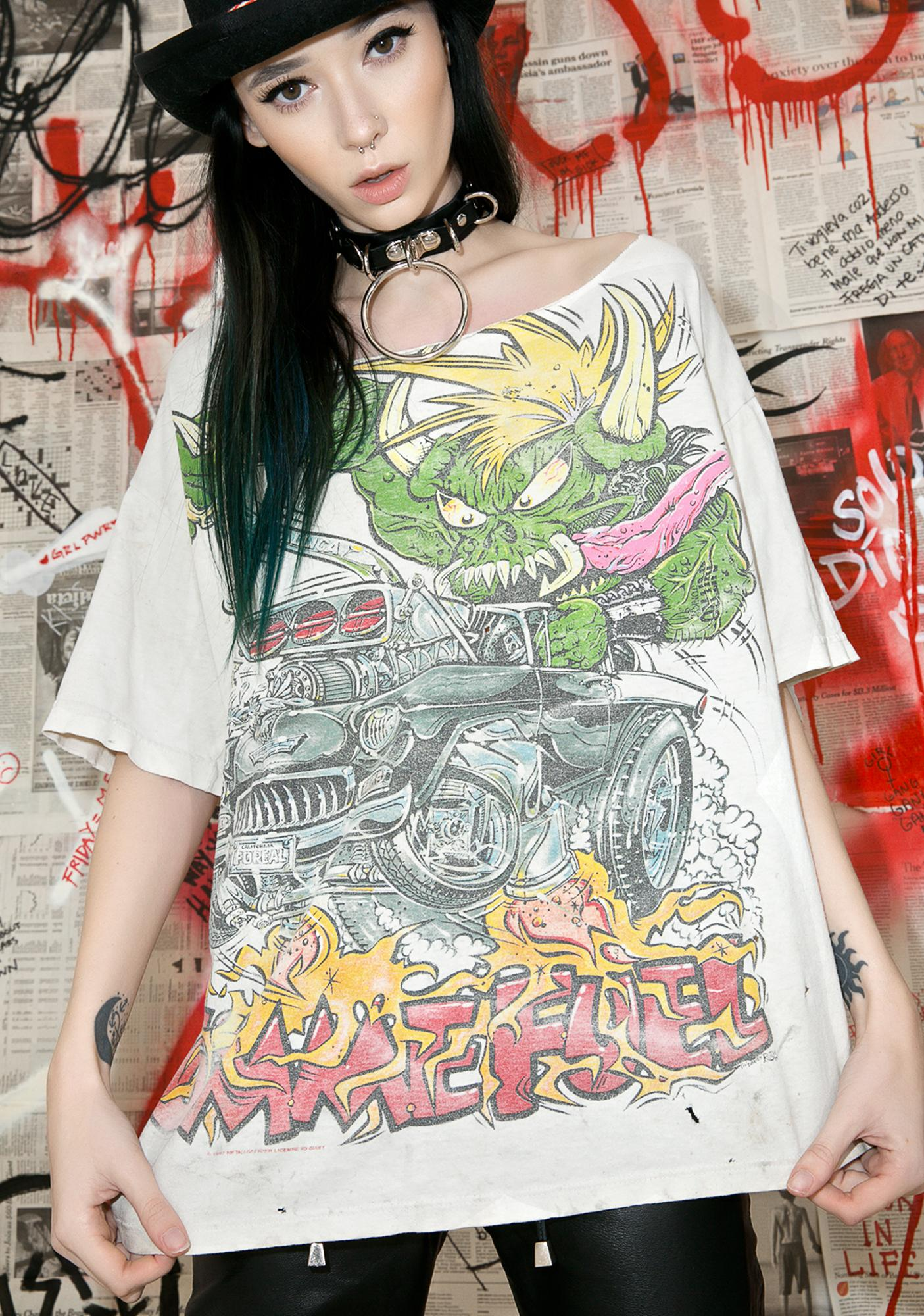 Vintage 90s Metallica Tour Tee