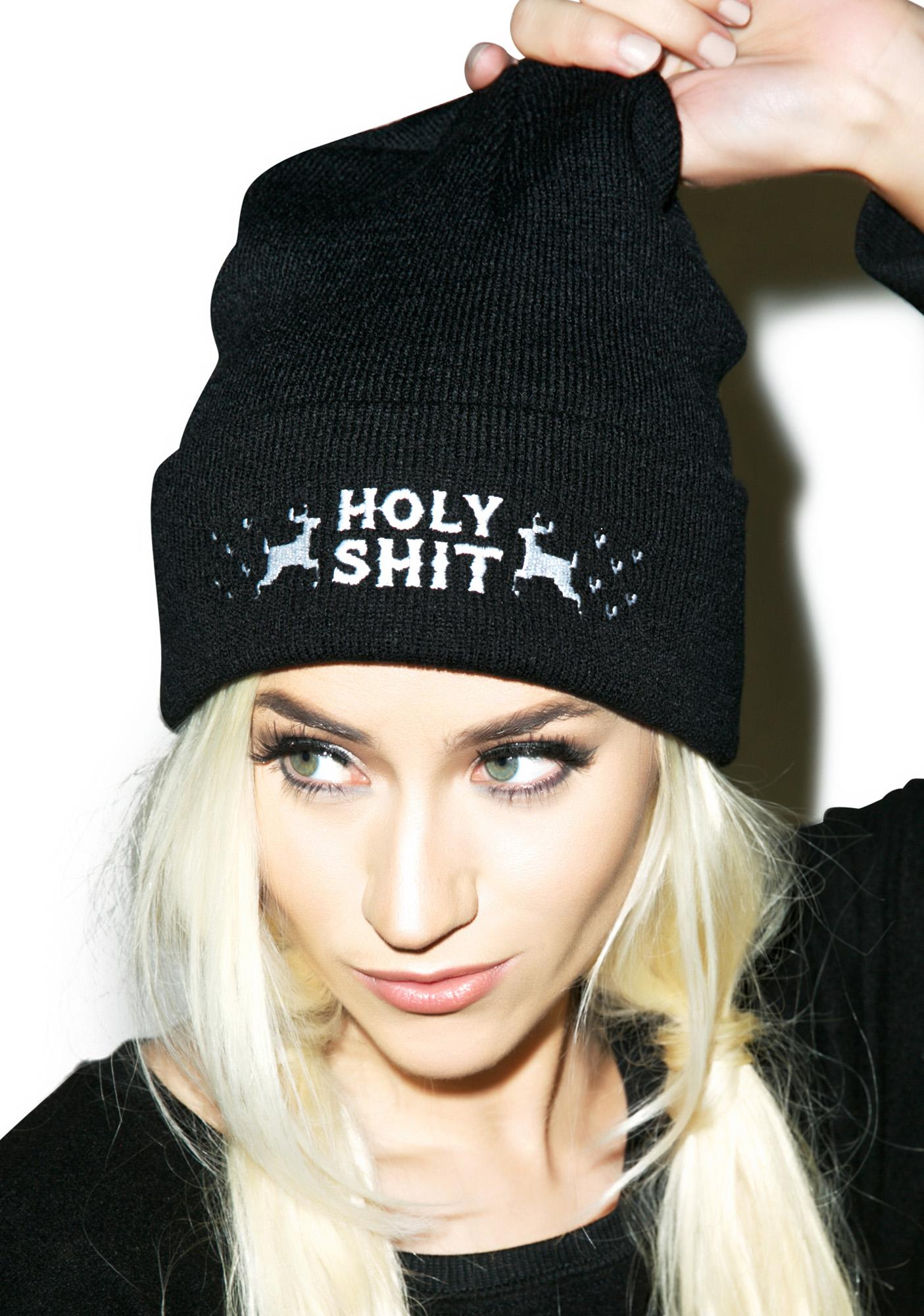 Social Decay Holy Shit Beanie