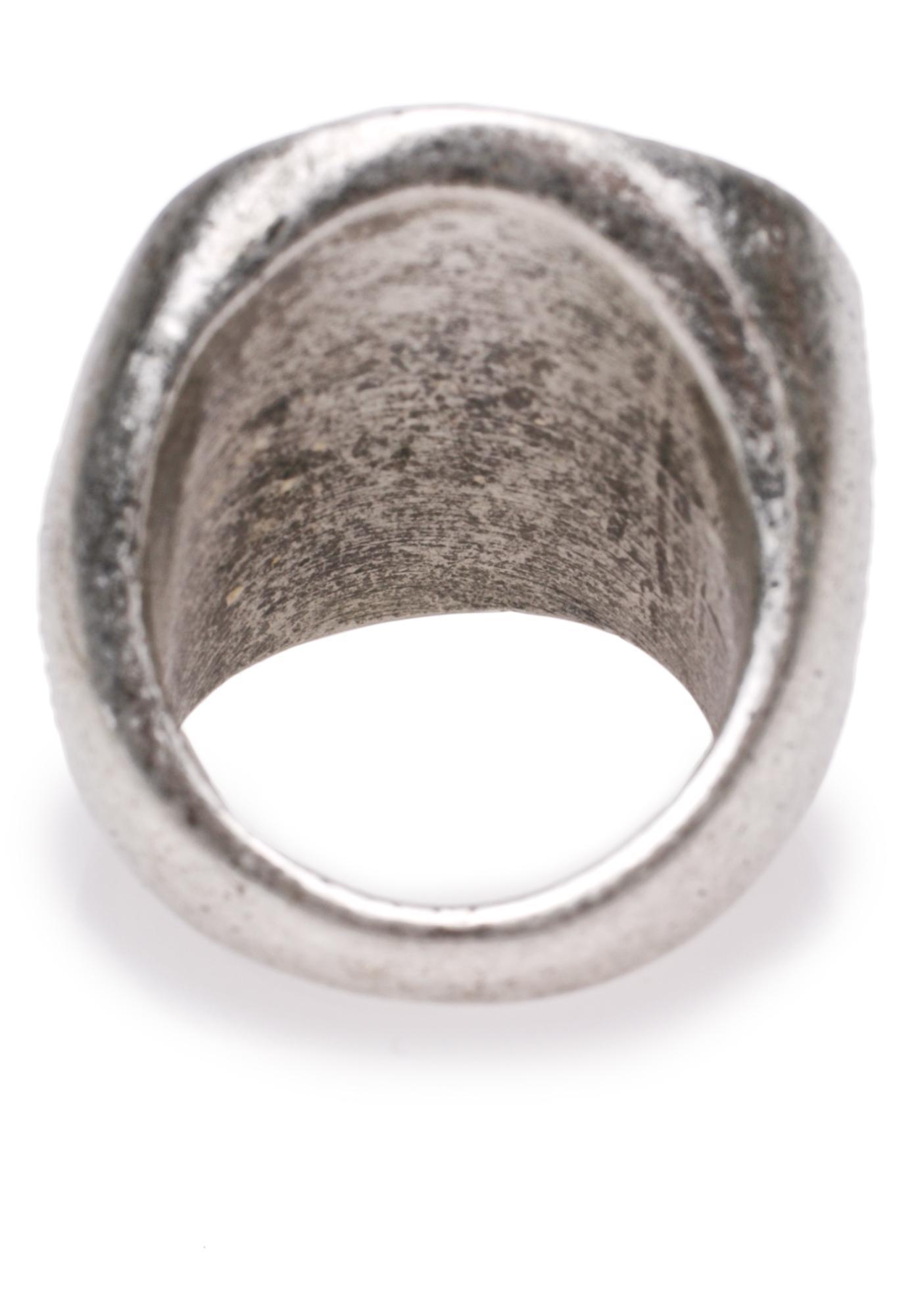 Cheap Monday Mad Skull Ring