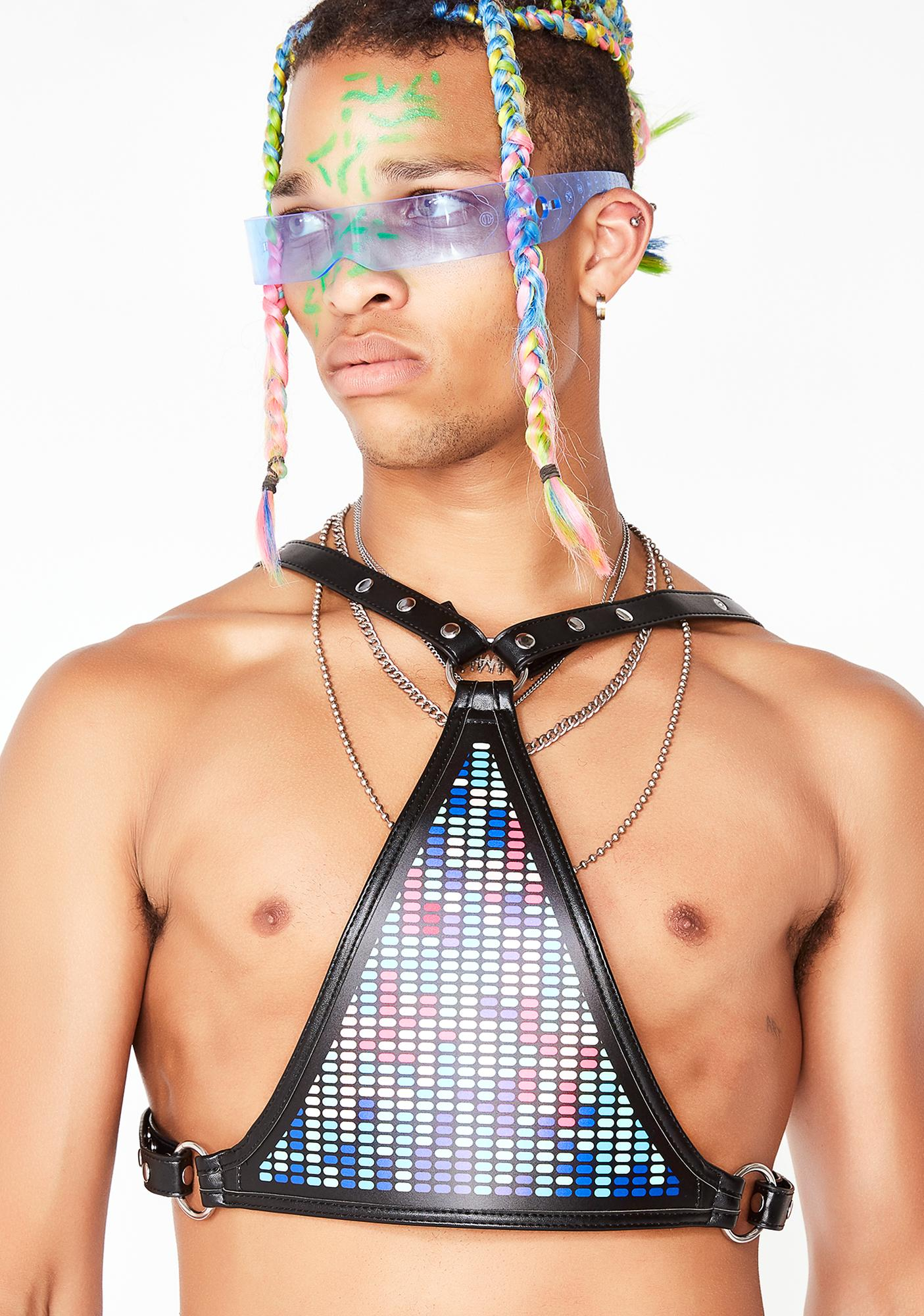 Club Exx Light Wavez Sound Reactive Harness