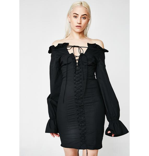 Midnight Heavy Hitter Mini Dress