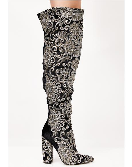 New Awakening Embellished Boots