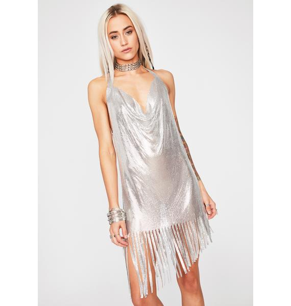 Lost In The Beat Fringe Dress